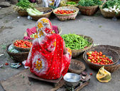 Market in Udaipur, India — Stock Photo