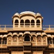 Stock Photo: Haveli in Jaisalmer India