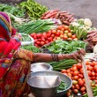 Market at Jaisalmer, India — Stock Photo