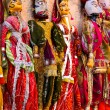 Stock Photo: Puppets at market in Jaisalmer India