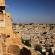 View of Jaisalmer from fort — Foto de stock #29224435