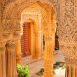 Stockfoto: Temple near Jaisalmer, India