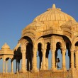 Bada Bagh Cenotaph in Jaisalmer,India — Stock Photo