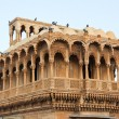 Stockfoto: Haveli in Jaisalmer India