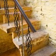 Stok fotoğraf: Old stairway in Jaisalmer, India