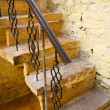 Stock Photo: Old stairway in Jaisalmer, India