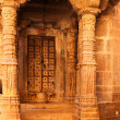 Stock Photo: Old doorway in Jaisalmer India