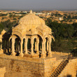 Stock Photo: BadBagh Cenotaph in Jaisalmer,India