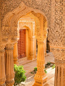 Temple near Jaisalmer, India — 图库照片