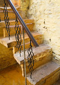 Old stairway in Jaisalmer, India — Stock Photo