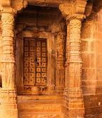 Staré dveře v indii jaisalmer — Stock fotografie