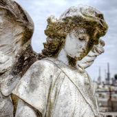 Angelo al cimitero di la recoleta di buenos aires — Foto Stock