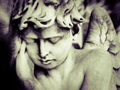 Sleeping Angel at La Recoleta Cemetery in Buenos Aires — Stock Photo