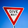 Give way sign — Stock Photo #29255677