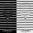 Wine Glass — Stock Photo