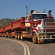 Stock Photo: Road Train in AustraliNT