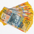 Stock Photo: AustraliBank notes