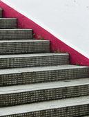 шаги - фокус на фронте — Стоковое фото