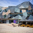 MELBOURNE, AUSTRALIA - OCTOBER 29: Iconic Federation Square — Stock Photo