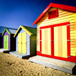 Bathing Boxes — Stock Photo