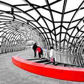 Webb Bridge - Docklands Melbourne — Stock Photo