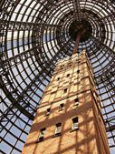 Shot tower an melbourne central — Stockfoto