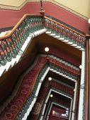 Velkolepé schodiště — Stock fotografie