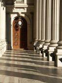 Edifícios do parlamento, victoria — Foto Stock