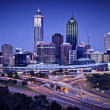 Perth Skyline by Night — Stock Photo #29281429
