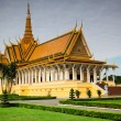 Royal Palace in Phnom Penh, Cambodia — Stock Photo