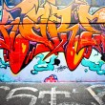 MELBOURNE - JUNE 29: Street art by unidentified artist. Melbourne's graffiti — Stock Photo
