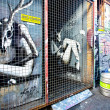 MELBOURNE - JUNE 29: Street art by unidentified artist. Melbourne's graffiti is famous worldwide — Stock Photo #29448947