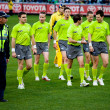 Collingwood's win over Fremantle on June 30, 2012 in Melbourne, Australia. — Stock Photo