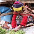 Stock Photo: Womin Peru