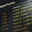 Airport Departure Board — Stock Photo #29486245