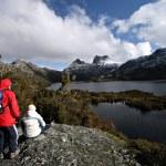Tasmania Cradle Mountain and Dove Lake — Stock Photo