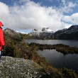 Tasmania Cradle Mountain and Dove Lake — Stock Photo