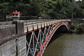 Kings Bridge at Launceston's Cataract Gorge — Stock Photo