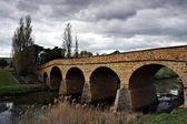 Australia's oldest bridge in Richmond Tasmania — Stock Photo