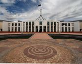 Australia's Parliament House - Canberra — Stock Photo
