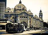 Iconic Flinders Street Station — Stock Photo