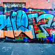 MELBOURNE - JUNE 29: Street art by unidentified artist.  Melbour — Lizenzfreies Foto