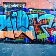 MELBOURNE - JUNE 29: Street art by unidentified artist. Melbour — Stock Photo #29737247