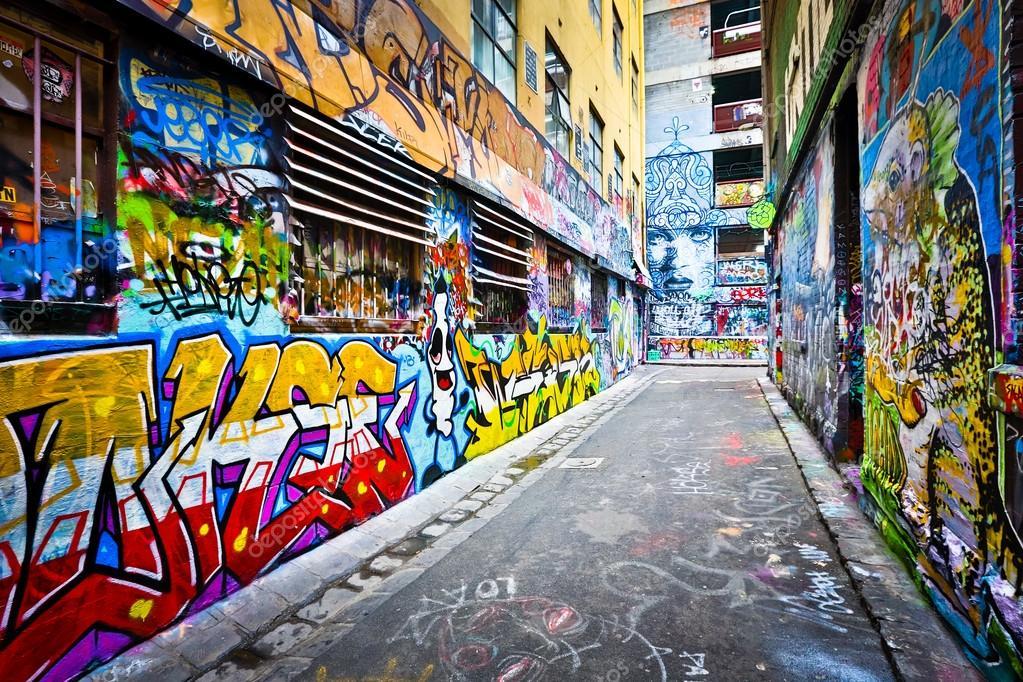 Melbourne August 14 Street Art By Unidentified Artist