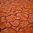 Dry Lake in Central Australia — Stock Photo
