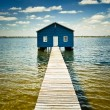 Boatshed on SwRiver - Perth — Stock Photo #30277225