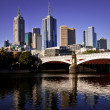 Melbourne skyline — Stock Photo #30277277