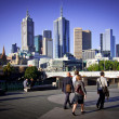 Melbourne skyline — Stock Photo #30277283