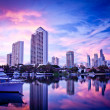 Surfers Paradise Skyline at Dawn — Stock Photo #30277285
