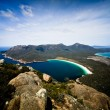 Wineglass bay - Tasmania — Stock Photo